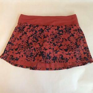 Lululemon Athletica  Pace Rival Skirt